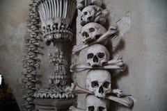 L'ossuaire de Sedlec Image libre de droits