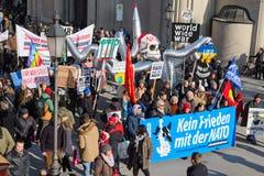 L'OTAN en Europe aiment un poulpe Images libres de droits