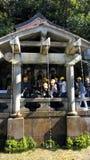 L'Otowa-aucune-taki cascade au temple de Kiyomizu, Kyoto, Japon Photographie stock