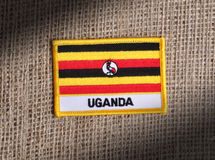 l'Ouganda Image libre de droits