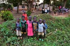 l'ouganda Enfants africains Photos stock