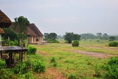 L'Ouganda, lac George, Afrique image stock