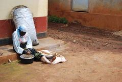 l'Ouganda oriental images libres de droits