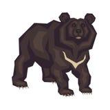 L'ours de l'Himalaya illustration de vecteur
