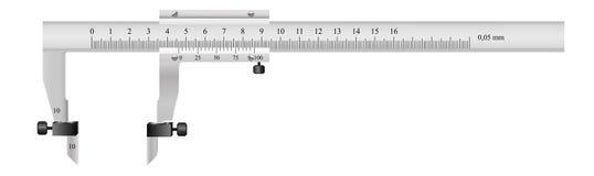 L'outil de mesure Images stock