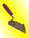 L'outil du constructeur du maçon une pelle photos stock