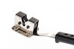 L'outil moderne d'émeris pour affilent le couteau Images libres de droits