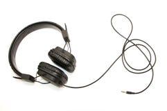 Écouteurs élégants photographie stock libre de droits