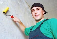 L'ouvrier. Photo libre de droits