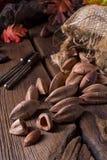 L'ovatum de Canarium, généralement connu sous le nom de pili est des espèces de tropica Images stock