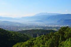 L paisaje de Aquila del ` Imagen de archivo