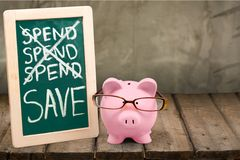 l'épargne Photo stock