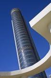 L'più alta costruzione nell'Israele Immagini Stock