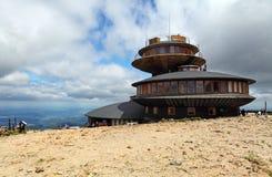 L'più alta montagna della repubblica ceca Fotografia Stock Libera da Diritti