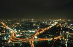 L'più alta vista aerea di Bangkok, Tailandia Fotografia Stock Libera da Diritti