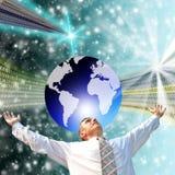 L'più alto il Internet di tecnologia Fotografie Stock Libere da Diritti