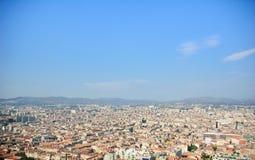 L'a piena vista di Marsiglia Immagini Stock Libere da Diritti