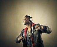 L'potenza di musica Immagini Stock Libere da Diritti