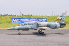 L-39 radiokontrolljet Royaltyfri Fotografi