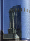L.A. - Reflexão no skyscrape Foto de Stock