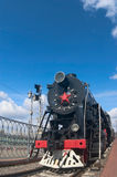 L series locomotive. L series vintage steam locomotive Royalty Free Stock Photography