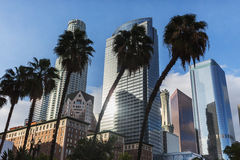 L.A. Skyscrapers Royalty Free Stock Image