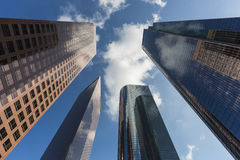 L.A. Skyscrapers Stock Photography