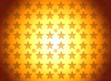 L'or stars l'illustration de fond de gagnant illustration de vecteur