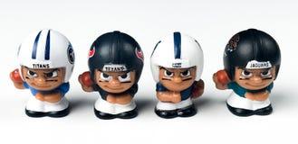 ` L sud de Li de Toy Figures CAF d'équipiers Photographie stock