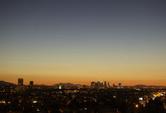 L.A. Sunrise Stock Image