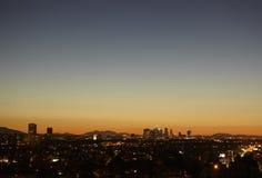 L.A. Sunrise Stock Image
