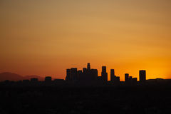 L.A. Sunrise Royalty Free Stock Image