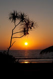 L sunset over the Andaman sea Royalty Free Stock Photography