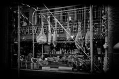 L tienda del ` s del carnicero en Nevsky Prospekt imagen de archivo libre de regalías