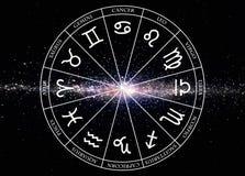 L'étoile signe le zodiaque Images stock