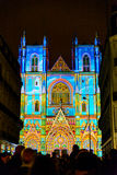 L Ton und Licht ` Odyssée DES Rêves zeigen in Nantes Stockbild
