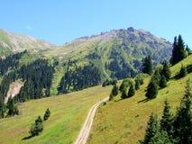 l'Tuyuk-Unione Sovietica mountains_02 Immagini Stock Libere da Diritti