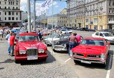L.U.C. Chopard Classic Weekend Rally 2013 Royalty Free Stock Image