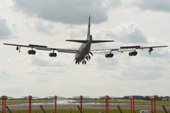 L'U.S. Air Force B-52 Boeing Stratofortress Images libres de droits
