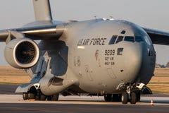 L'U.S. Air Force de C17 Globmaster image libre de droits