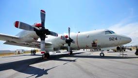 L'U.S. Air Force Lockheed Martin P-3 Orion chez Airshow 2010 Image libre de droits