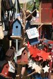 L'uccello alloggia uno Fotografia Stock Libera da Diritti