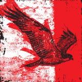 L'uccello di prega illustrazione vettoriale