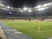 L'Ucraina contro la Spagna Partita di spareggio 2016 dell'EURO dell'UEFA Fotografie Stock