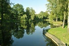 L'Ucraina, Ivano-Frankivsk, parco di Shevchenko Fotografia Stock