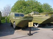 l'ucraina kiev Complesso commemorativo del museo di grande guerra patriottica Attrezzatura militare Veicoli amfibi Fotografie Stock
