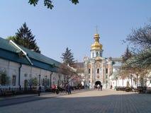 l'ucraina kiev Kiev Pechersk Lavra Chiesa del portone Fotografie Stock