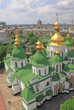 l'ucraina kiev l'ucraina Cattedrale di Sophias del san Poggioreale rovina il portello in balcone Fotografie Stock