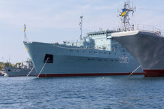 L'Ucraina, Sebastopoli - 2 settembre 2011: Marina dell'ucranino della corte immagine stock