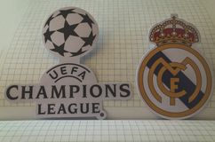 L'UEFA Champions League Photo libre de droits